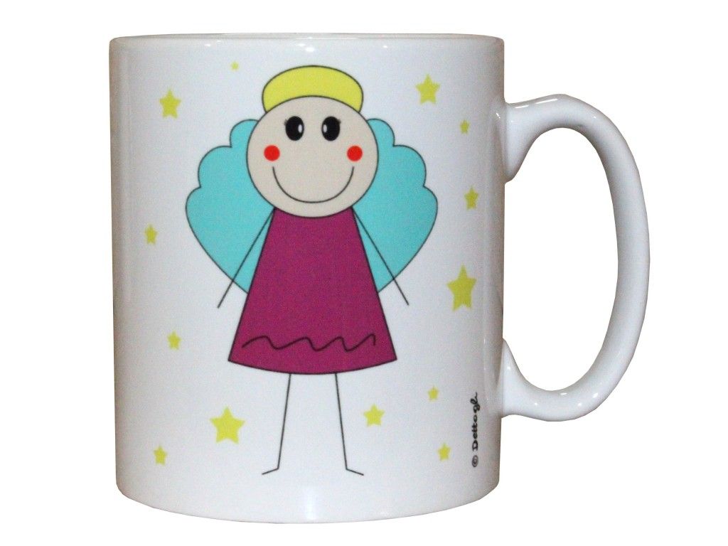 tazza mug con disegnato un angelo spiritoso, tazza con nome, tazza personalizzabile personalizzata, ceramica personalizzata,tazza con foto,articolo artigianale , creazione dettagli,mug designed with an angel witty, name mug, personalized mug custom, personalized ceramic mug with photos, article craft, creation details,