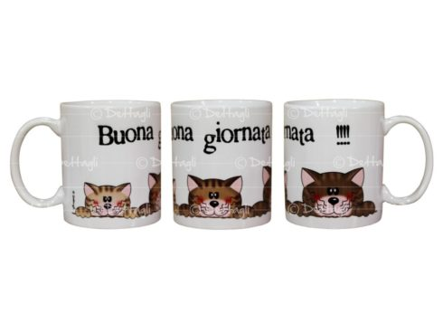 tazza personalizzabile con gatti,tazza con nome,tazza colazione per bambini, creazioni dettagli cagliari,mug personalized with cats, name mug, cup breakfast for children, creations details cagliari,