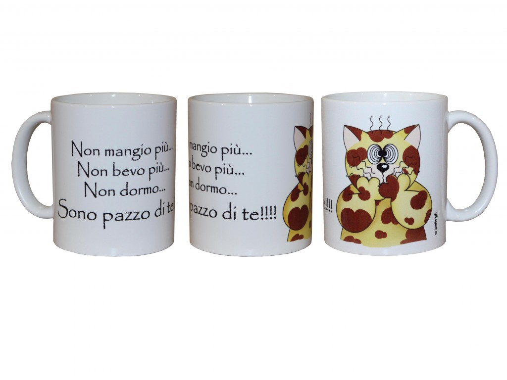 tazza per la colazione con gatto , ceramica gatto , gatti da collezione, oggettistica con gatti vendita online, tazze personalizzate con nome, creazioni dettagli cagliari, cup for breakfast with cat, ceramic cat, cat collectibles, gifts with cats for sale online, personalized mugs with your name, details creations cagliari