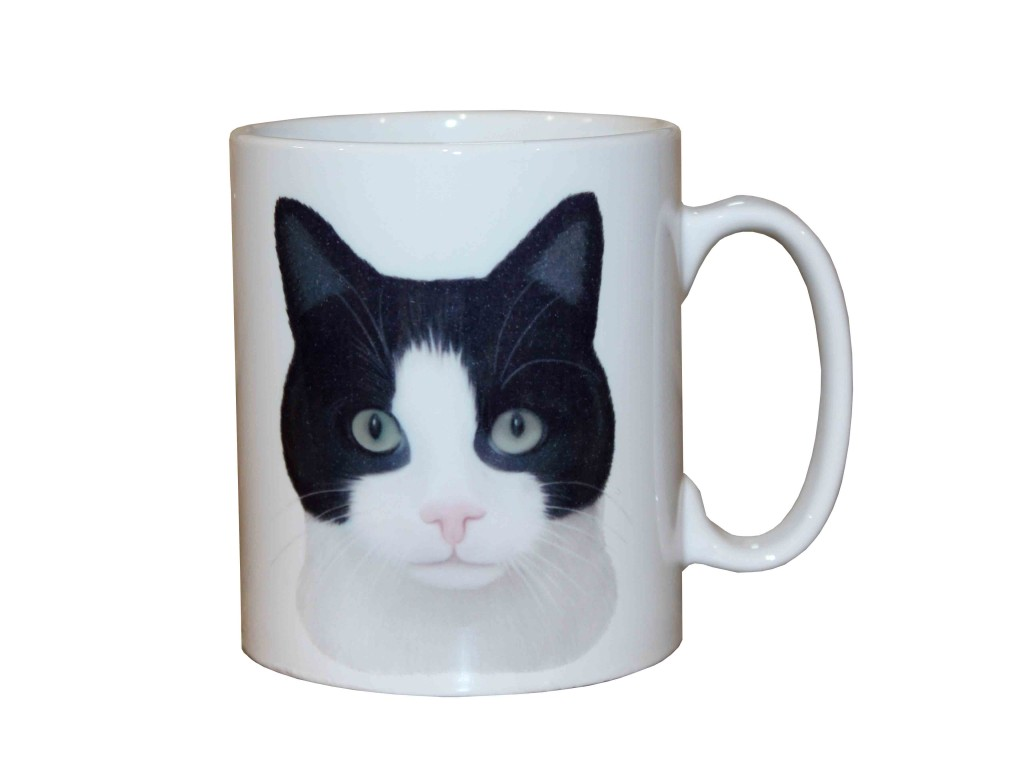 tazza mug con gatto, ceramiche con i gatti, vendita online di oggettistica con gatto,mug with kittens, cats with ceramics, objects with cat , creazioni dettagli