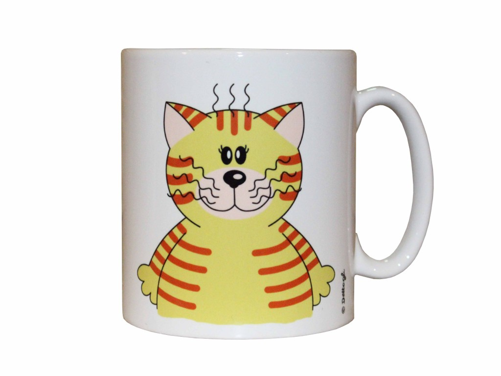 tazza mug con disegno di gatto , ceramiche con i gatti mici , vendita online di oggettistica con gattini , creazioni dettagli cagliari ,mug with cat design, ceramics with cats cats, kittens for sale online curio, CAGLIARI creations details