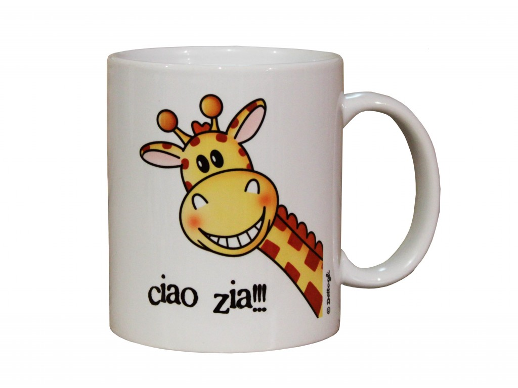 tazza mug per la colazione con giraffe tazza con scritte spiritose e frasi simpatiche, tazza personalizzata con nome,zia, creazione dettagli cagliari,mug cup for breakfast with giraffes written with witty and funny phrases, mug personalized with name, aunt, creation details cagliari,tazza da collezione,cup collector