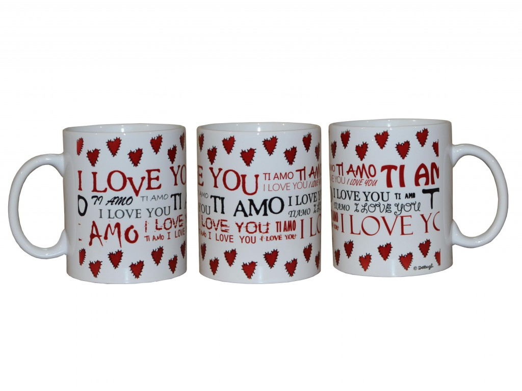 tazza per la colazione per innamorati, oggettistica con cuori, idee regalo per san valentino, ceramiche per la cucina con cuori, tazza personalizzata, creazioni dettagli cagliari,cup for breakfast for lovers, gifts with hearts, gift ideas for valentines day, pottery for cooking with hearts, personalized mug, creations details cagliari