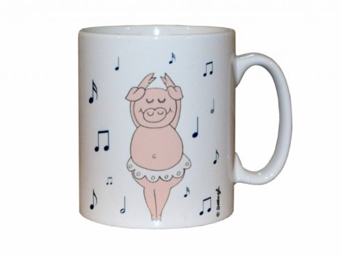 tazza mug con maiale, ceramiche con i maiali, vendita online di oggettistica con maiale, creazioni dettagli cagliari ,mug with pork, ceramics with pigs, online sale of objects with pork creations details