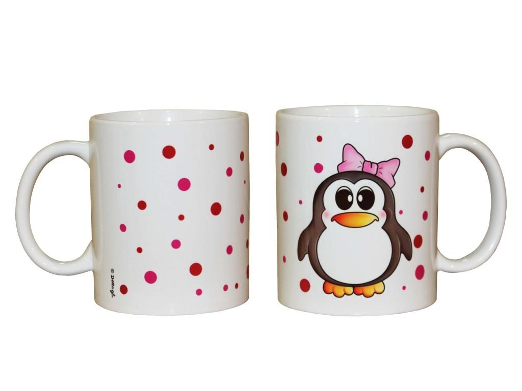 oggettistica con pinguini,pinguini vendita online, tazza personalizzabile con nome, creazioni dettagli cagliari,objects with penguins, penguins for sale online, mug personalized with name, details creations cagliari,