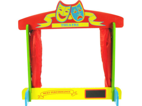 teatro da tavolo, regalo per piccoli artisti, theater table, gift for little artists, bigjtoys