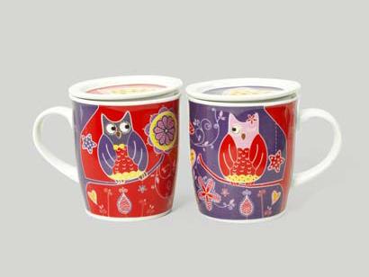 tazza per tisane per un te in compagnia