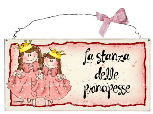 targa per porta,casa, personalizzabile con nome, principesse, creazioni Dettagli Cagliari,artigianato italiano,illustrazione,plate to door, house, personalized with name, Princesses, creations Details Cagliari, Italian craftsmanship, illustration, bambina corona