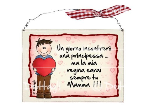 bambino con cuore, targa con frasi spiritose per la festa del papà, dediche personalizzate, targa per porta , creazioni dettagli cagliari, plate with witty phrases for Father's Day, dedications personalized license plate for the door, creations details cagliari