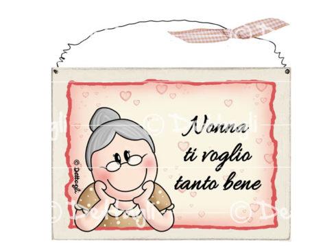 targa con scritte spiritose simpatiche per la nonna, idea regalo per la nonna, frasi simpatiche per la famiglia,creazione dettagli cagliari,plate with written spirit nice for grandma, gift for grandma, funny phrases for the family,
