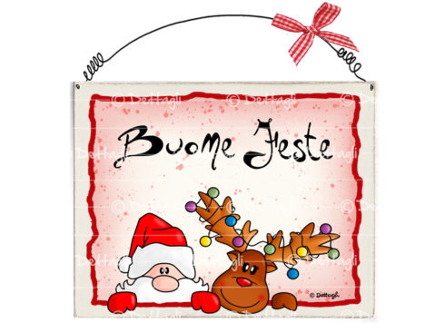 targa per porta con babbo natale, frasi e dediche simpatiche per natale, targhetta di natale personalizzabile ,babbo natale con sacco, creazioni Dettagli Cagliari,decorazioni natalizie in legno ,plaque for the door with Santa Claus, phrases and dedications nice for Christmas, Christmas plate customizable, santa claus with sack, creations Details Cagliari,Christmas decorations wood