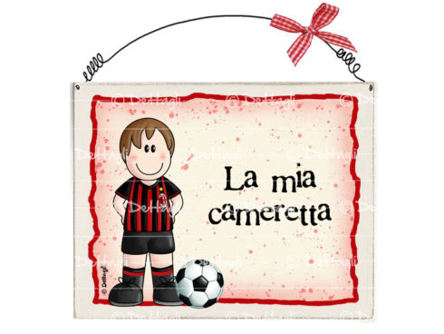 targa personalizzabile con il nome squadra di calcio, regalo per tifoso, creazione Dettagli cagliari,plaque personalized with the name of the football team, gift for a fan, creating Cagliari Details,