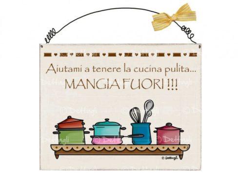 targa con frasi simpatiche e spiritose,plate with funny and witty phrases,dettagli