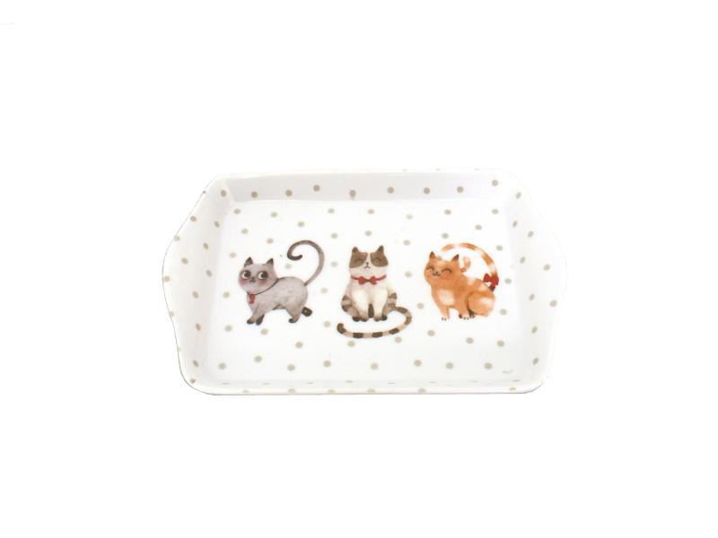 tray cat, creative cuisine, colorful, collezionismo di gatti ,vendita online di oggettistica gatti, regali per amanti dei gatti, regalo miccioso
